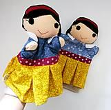 Hračky - Sada manušiek (Snehulienka a princ) - 12942232_