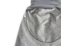 """Detské oblečenie - Softshellky """"grey&grey"""" (110 (4-5 r.) dl: 70cm) - 12943424_"""