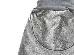 "Detské oblečenie - Softshellky ""grey&grey"" - 12943424_"