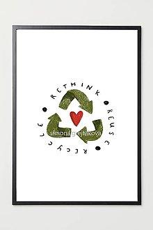 "Grafika - ""Recycle"" ~ Print ~ - 12944560_"