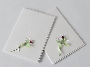 Papiernictvo - Malá kytička z lásky - pozdrav - 12943182_