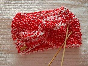 Ozdoby do vlasov - Čelenka pletená - 12946099_