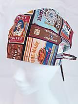 Čiapky, čelenky, klobúky - Operačná čiapka - 12950335_