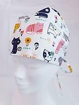 Čiapky, čelenky, klobúky - Operačná čiapka - 12950355_