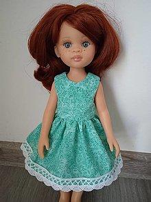 Hračky - Šaty pre bábiku Paola - 12949575_