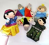Sada manušiek (Snehuienka a sedem trpaslíkov, princ, zlá kráľovná)