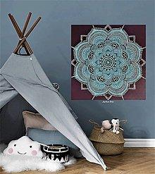 Obrazy - OSOBNÁ MANDALA pre dieťa do detskej izby, originálny dar k narodeninám - 12946334_