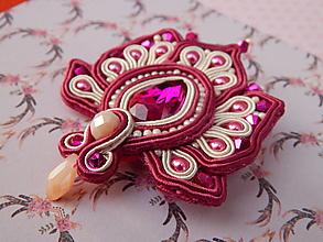 Odznaky/Brošne - Pretty little jewel - 12949368_