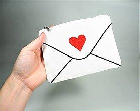 Taštičky - Taštička Valentínka - 12948032_