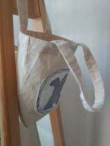 Úžitkový textil - Veľkonočné vrecko so zajačikom - 12949692_