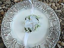 Iné doplnky - Náramok pre družičku - Biela orchidea - 12948640_
