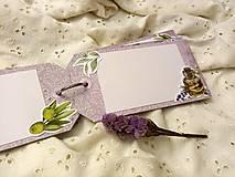 Papiernictvo - Minialbum (Dievča s knihou) - 12950466_