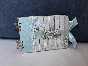 Papiernictvo - Svadobná kniha hostí - 12947395_