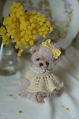 Hračky - Mini medvedica Zlatka - 12950905_