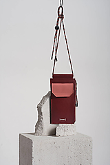 Na mobil - Phone purse BordoPunch - 12951655_
