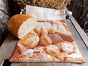 Úžitkový textil - Pytlík na pečivo s obrázkem - 12954845_