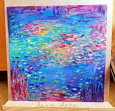 Obrazy - Farebné lekná  - obraz - 12951677_