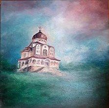 Obrazy - Gréckokatolícky chrám Stropkov-maľba olejom - 12952853_