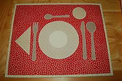 Úžitkový textil - prestieranie - 12951300_