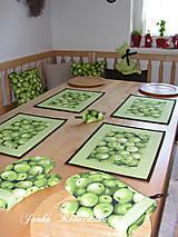 Úžitkový textil - jablčka - 12951500_