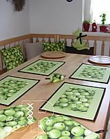 Úžitkový textil - jablčka - 12951505_