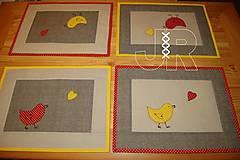 Úžitkový textil - jarné - 12951541_
