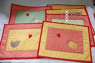 Úžitkový textil - jarné - 12951535_