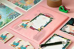 Grafika - Polární liška - umělecký tisk - 12960510_