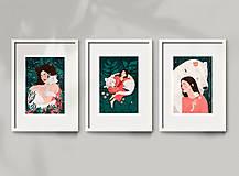 Grafika - Polární medvěd - umělecký tisk - 12960571_
