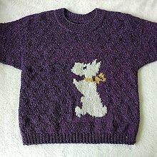 Detské oblečenie - BIELY PSÍK - 12956992_