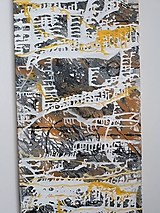 Obrazy - Abstract X, 50 x 110 cm - 12956728_