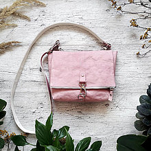 Kabelky - Kabelka DINKY bag - pastelovo ružová - 12959818_