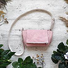 Kabelky - Kabelka CUTE bag - pastelovo ružová - 12959907_