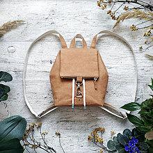 Batohy - Ruksak CANDY backpack - bronzovo hnedá - 12959932_