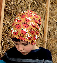 Detské čiapky - Maco v slame - 12960792_