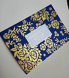Papiernictvo - Kniha hostí - ručne maľovaná - 12956971_