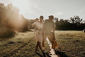 Šaty - Zavinovacie ľanové šaty - Húska - 12957243_
