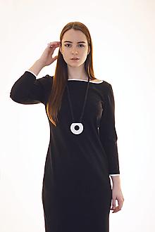 Šaty - Pouzdrové šaty Black - 12959796_