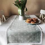 Úžitkový textil - Obrus štola Margarétky - 12958360_