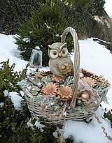 - zimná dekorácia: Rozárkine poklady - 12964922_