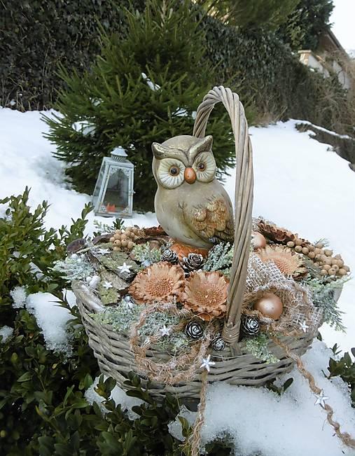 zimná dekorácia: Rozárkine poklady