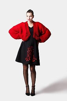 Šaty - Šaty s červenou výšivkou - 12963891_