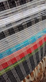 Úžitkový textil - Tkaný koberec ,, Tradičný,, 80x150cm - 12961827_