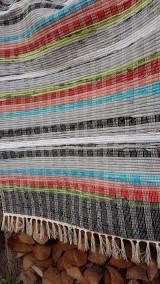 Úžitkový textil - Tkaný koberec ,, Tradičný,, 80x150cm - 12961828_