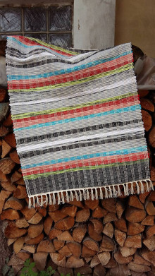 Úžitkový textil - Tkaný koberec ,, Tradičný,, 80x150cm - 12961817_