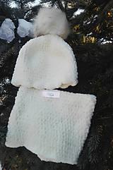 Detské doplnky - Detská čiapka s nakrčníkom - 12964983_
