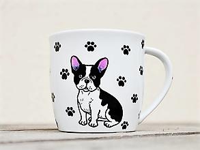 Nádoby - Maľovaný hrnček so psíkom (kreslené plemená) - 12961721_