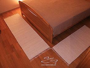 Úžitkový textil - Ručne tkaný koberec KOBERČEKY SLUŠŇÁK 125 cm šírka - 12961133_