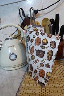 Úžitkový textil - kuchynské bezodpadové utierky-wafle - 12964716_