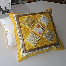 Úžitkový textil - Vankúše katedrálové okno - 12963628_